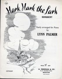 Hark, Hark, the Lark - for Piano