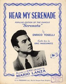 Hear my Serenade - popular Edition of the famous