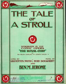The Tale of a Stroll - Introduced in the Comic Opera