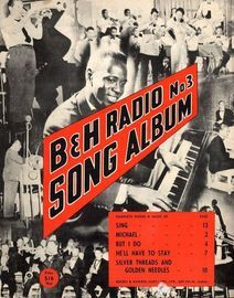 B & H Radio Song Album - No. 3 - For Piano and Voice