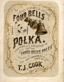 Four Bells Polka - For Piano Solo - Composed as a companion to the popular