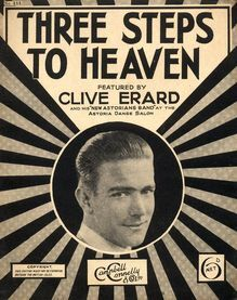 Three Steps To Heaven - Song for Piano with Ukulele Accompaniment - Featured By Clive Erard and His New Astorians Band