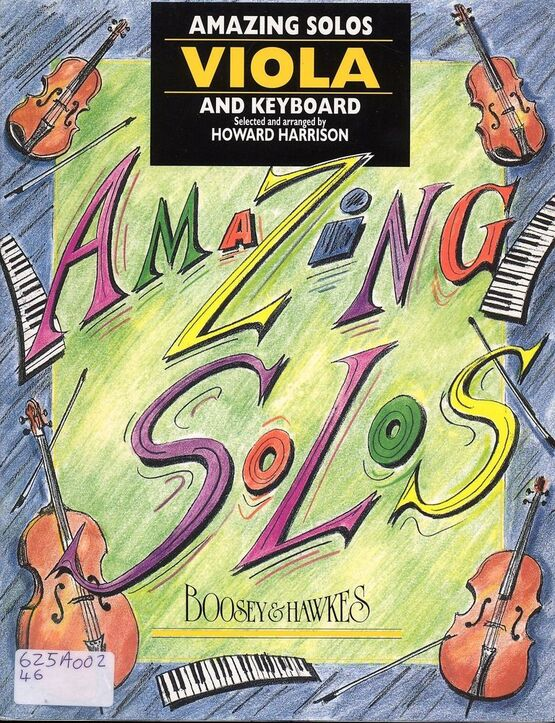 1 | Amazing Solos - Viola and Keyboard