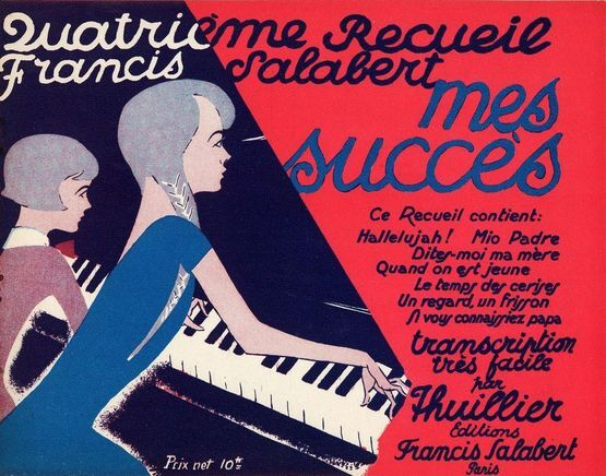 10129 | Quatrieme Recueil Francis Salabert mes succes - Transcription tres facile - For Piano Solo - French Edition