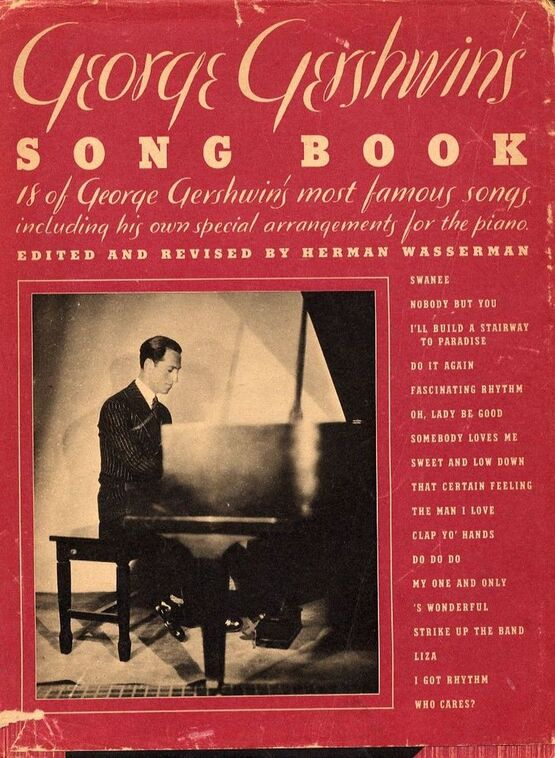 10443 | George Gershwins Song Book - 18 of George Gershwin's most famous songs including his own special arrangements for the Piano