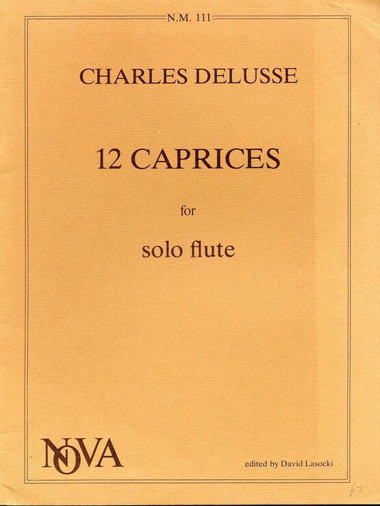 10458 | 12 Caprices for Solo Flute