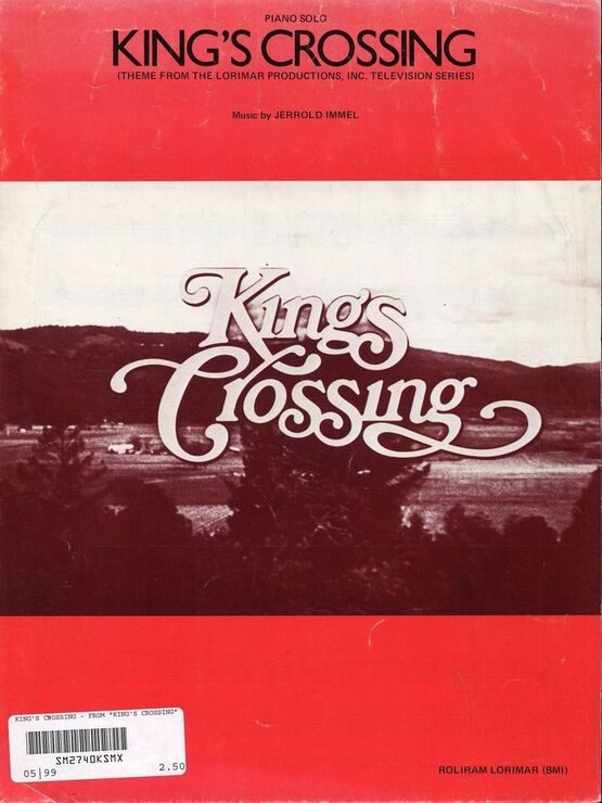 10858 | King's Crossing (Theme from The Lorimar Productions) - Piano Solo