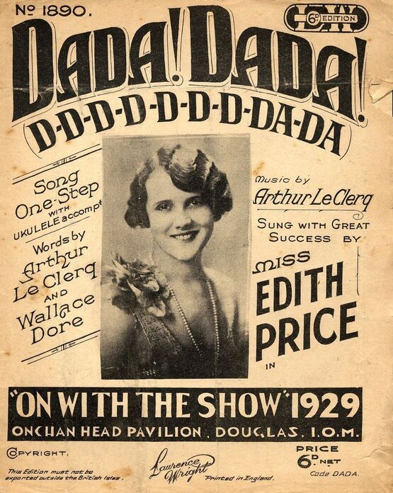 11 | Dada! Dada! (DDDDDDDDADA)  featuring Miss Edith Price