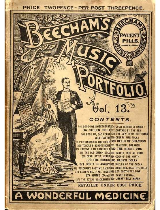 11401 | Beecham's Music Portfolio - 'A Wonderful Medicine' - Volume 13