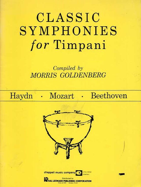 11732 | Classic Symphonies for Timpani - Haydn, Mozart and Beethoven