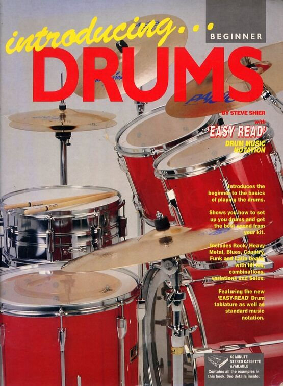 Introducing Drums - Beginners - Easy Read Drum Music Notation -