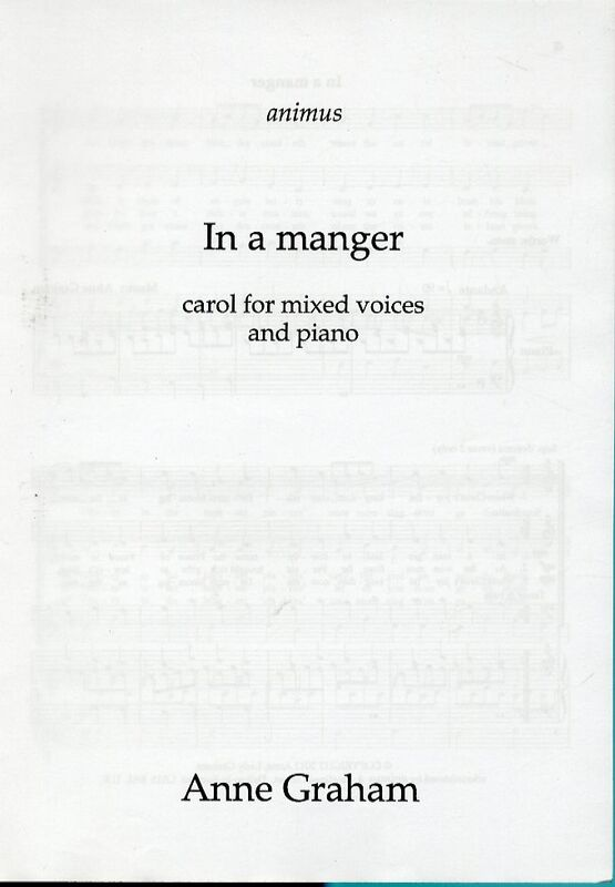 12016 | In a Manger - Carol for Mixed Voices and Piano