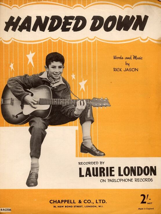12223 | Handed Down - Song recorded by Laurie London