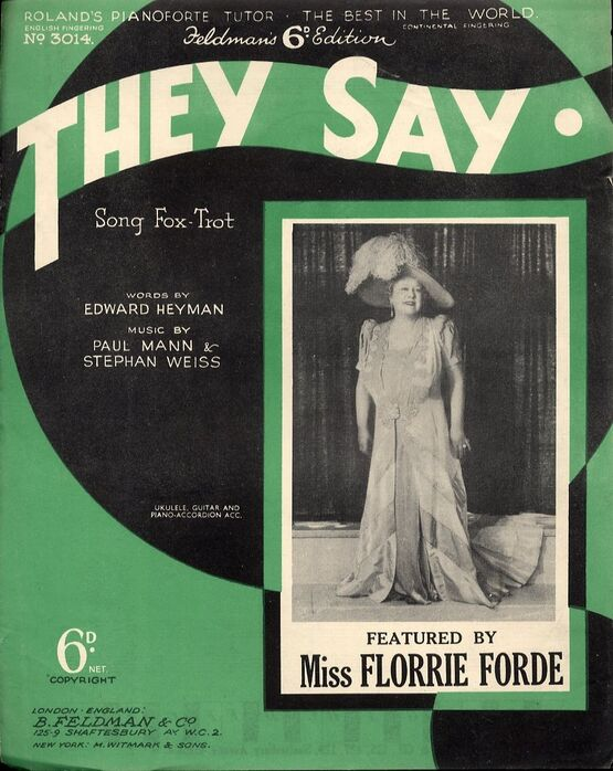 1368 | They Say - Featuring Miss Florrie Forde