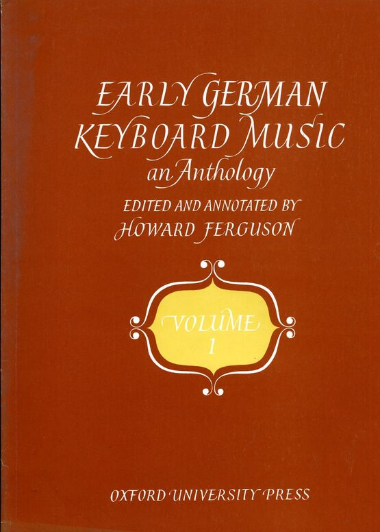 139 | Early German Keyboard Music - An Anthology - Volume 1