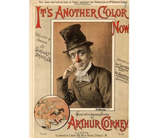 1499 | Its Another Color Now, sung by Arthur Corney,