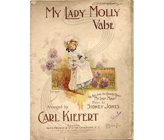 1508 | My Lady Molly valse, on airs from the comedy opera
