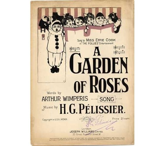1538 | A Garden of Roses, sung by Miss Effie Cook