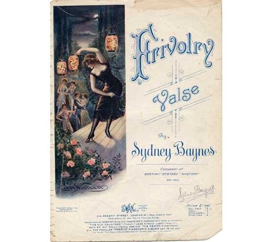 1689 | Frivolry valse for Piano