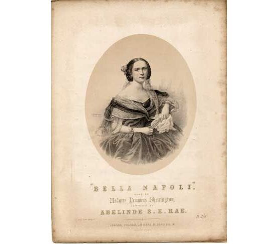 1862 | Bella Napoli, sung by Madame Lemmens Sherrington