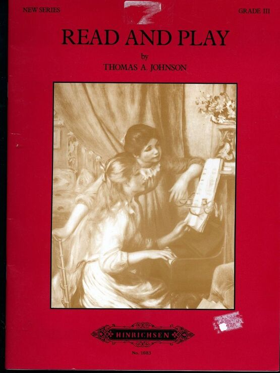 2002 | Read and Play - New Series - Grade III - Hinrichsen Edition No. 1083 - 71 Sight reading pieces and exercises - For Piano