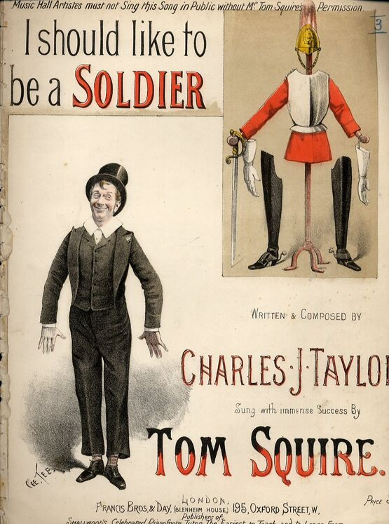 2045 | I should like to be a Soldier, sung by Tom Squire,