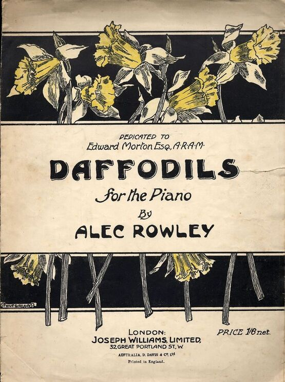 3305 | Daffodils - For the Piano