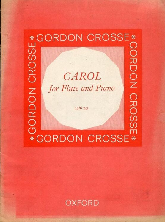 3362 | Carold - For Flute and Piano - Op. 7