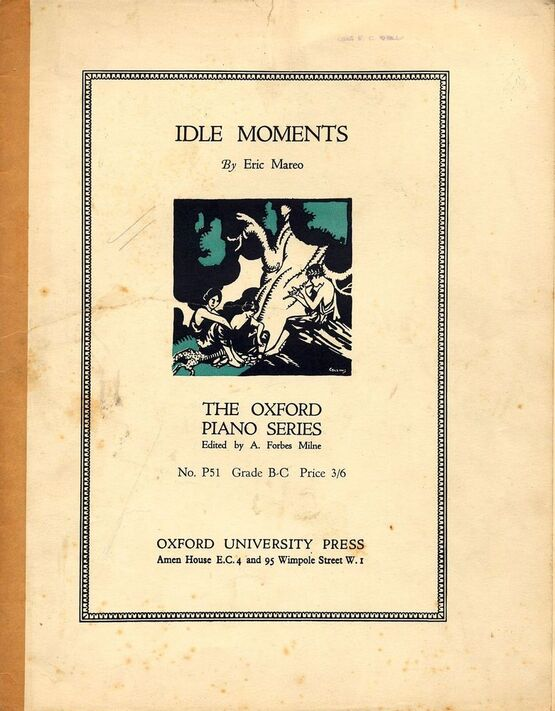 3362 | Idle Moments - The Oxford Piano Series No. P51 - Grade B-C