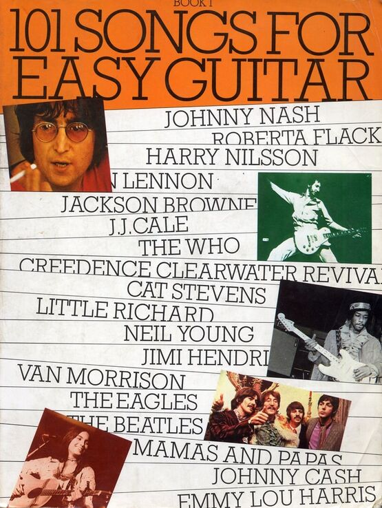 3592 | 101 Songs for Easy Guitar - Book 1