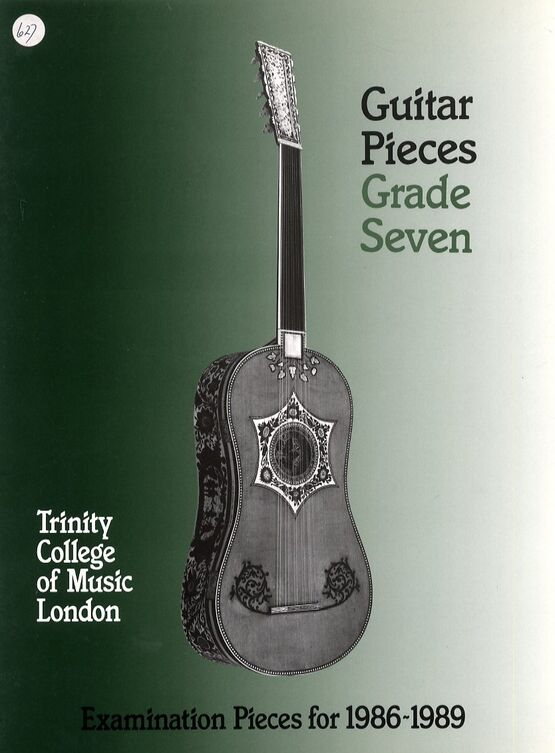 3624 | Guitar Pieces - Grade Seven