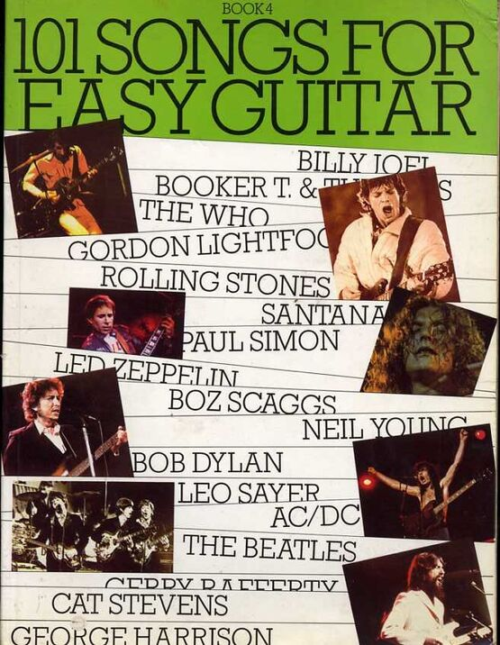 3737 | 101 Songs for Easy Guitar - Book 4