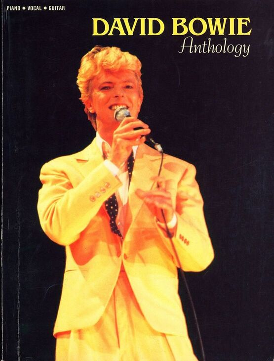 3782 | David Bowie - Anthology - For Piano, Vocal and Guitar
