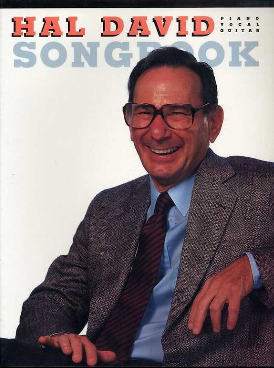 3782 | Hal David Songbook - For Voice, Piano with Guitar tabs - Featuring Hal David