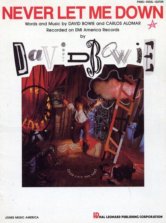 3782 | Never let me Down - Featuring David Bowie - Piano - Vocal - Guitar