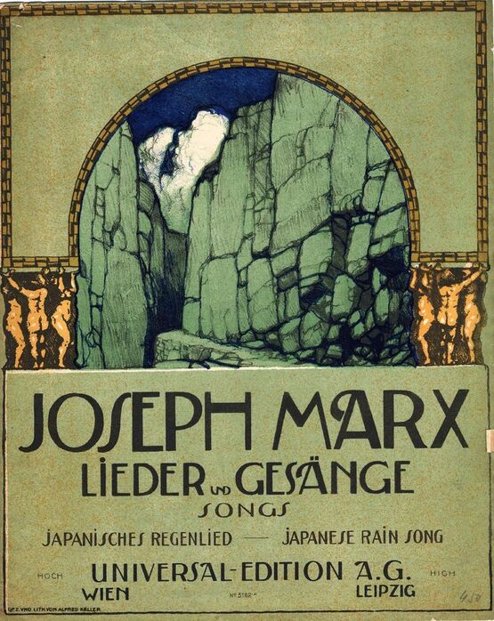3789 | Japanese Rain Song - From Lieder und Gesange (Songs) 1st Series, No. 13 - For High Voice