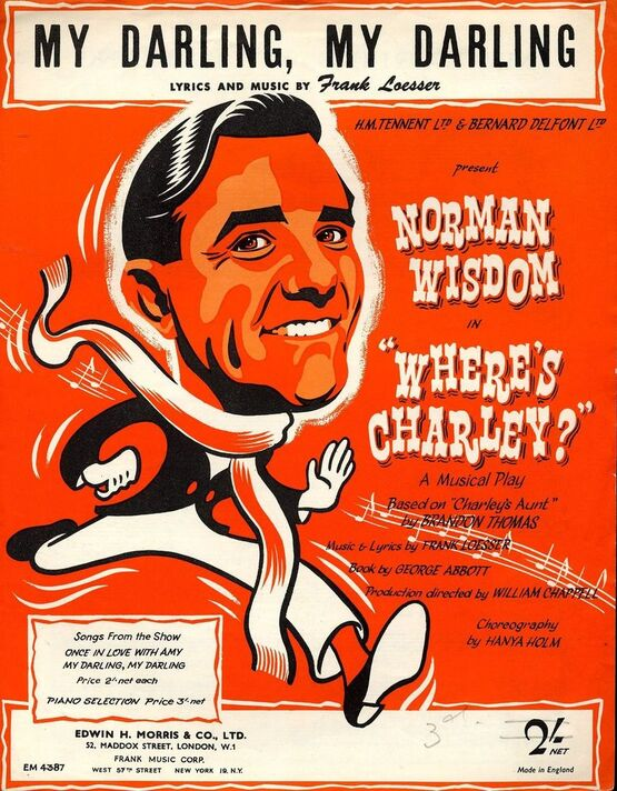 3933 | My Darling, My Darling, featuring Norman Wisdom in
