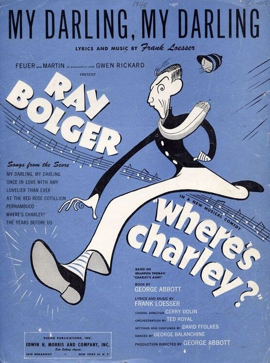 3933 | My Darling, My Darling, featuring Ray Bolger in