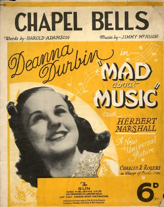 4 | Chapel Bells: Deanna Durbin in