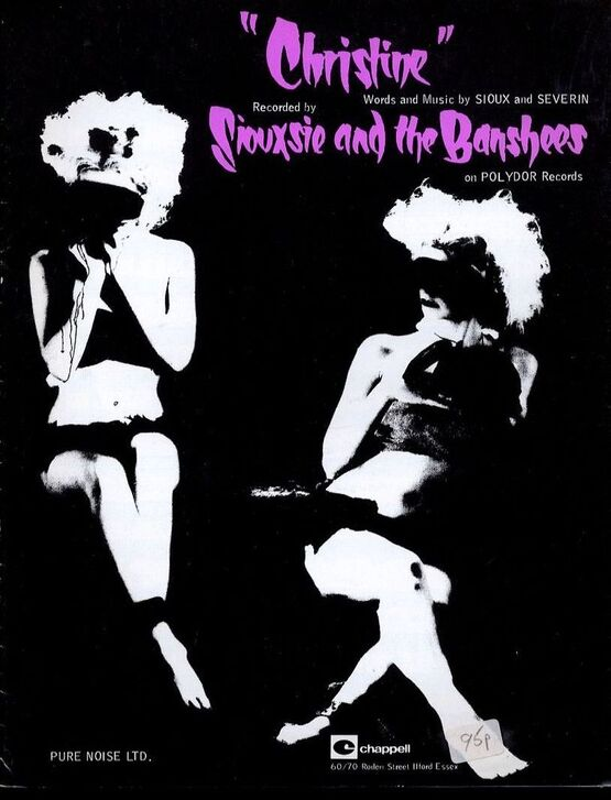 4 | Christine - Featuring Siouxsie and the Banshees