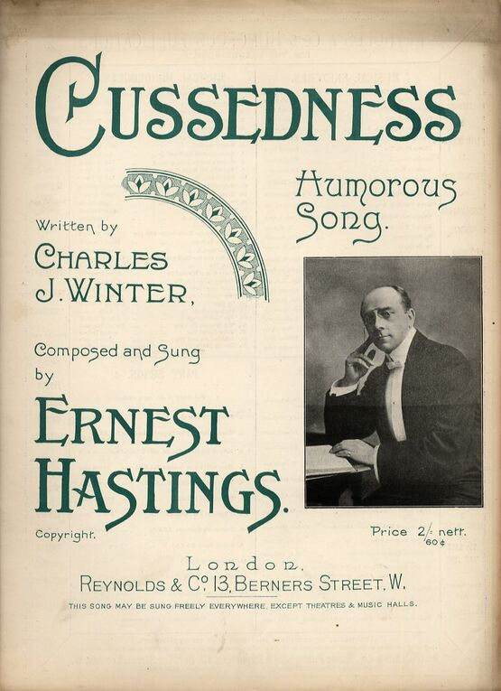4 | Cussedness. Humorous song
