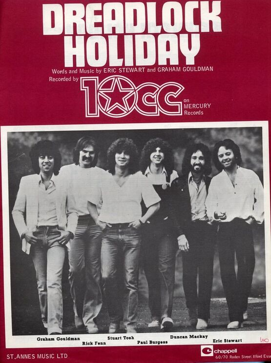 4 | Dreadlock Holiday - Featuring 10cc