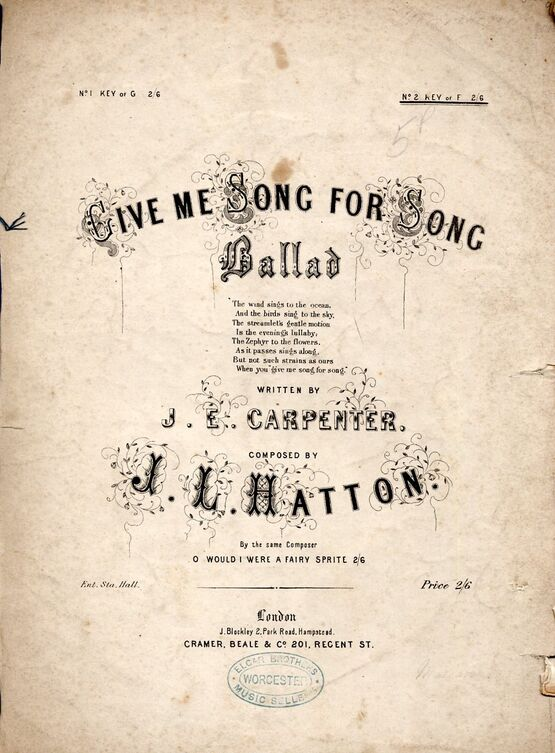 4 | Give Me Song For Song.