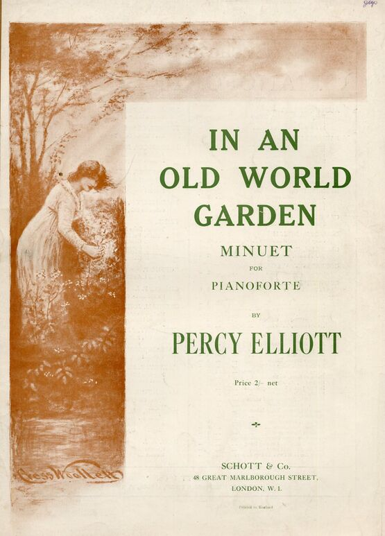 4 | In An Old World Garden. Minuet for Piano solo