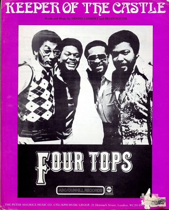 4 | Keeper of the Castle, Four Tops