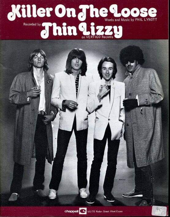 4 | Killer on the Loose: Thin Lizzy