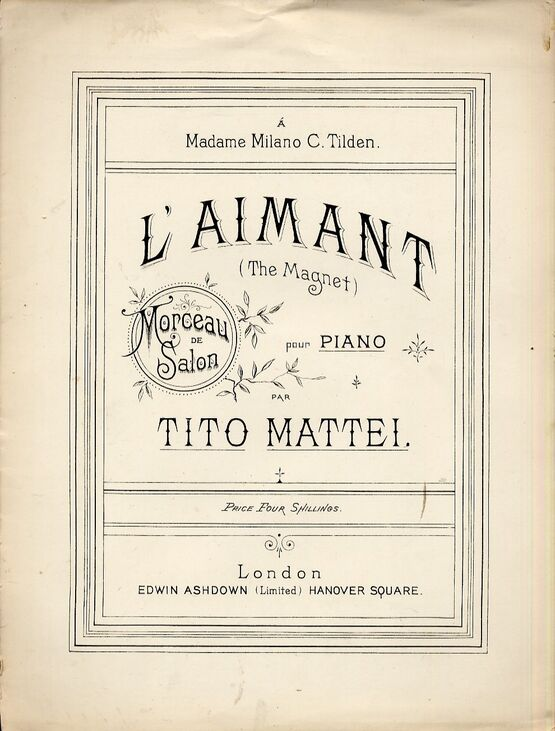 4 | L Aimant, for piano