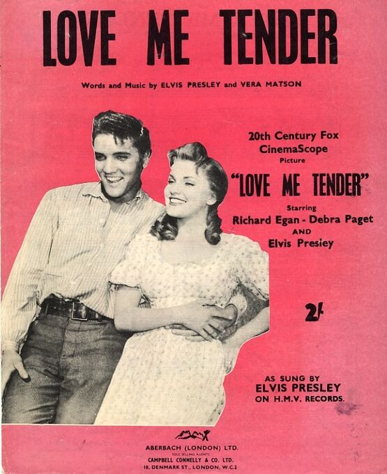 4 | Love Me Tender. Elvis Presley, Debra Paget