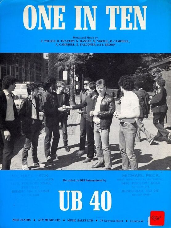 4 | One in Ten. UB 40