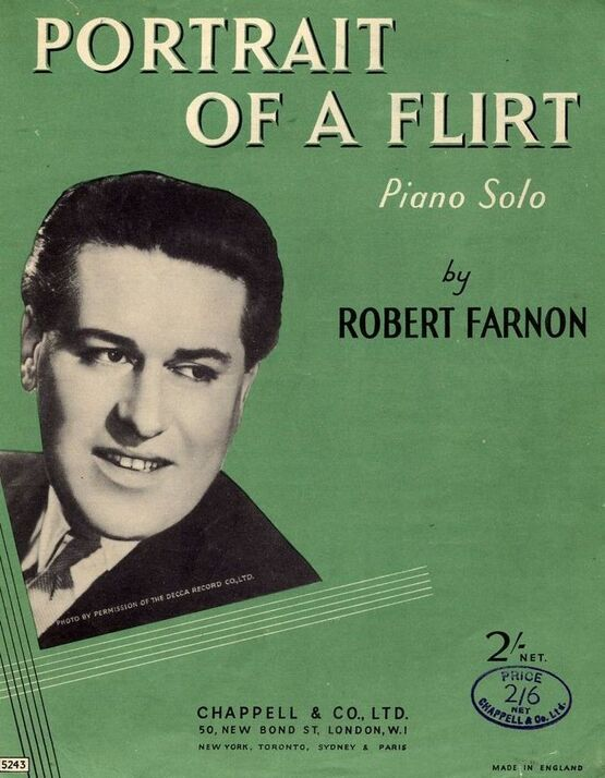 4 | Portrait of a Flirt - Piano Solo